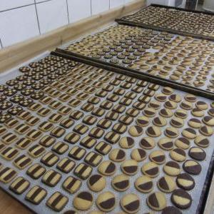 クリスマスのクッキー作り