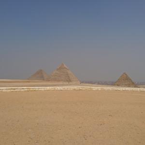 三大ピラミッド貸し切り!