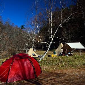 令和元年 最後のキャンプ