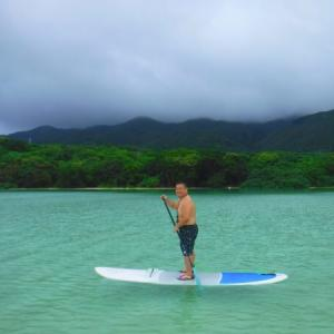 念願の川平湾SUP!? どこかにマイルで石垣 その3 My desire that getting on SUP at Kabirawan-bay in Ishigaki-Island