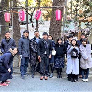 恵比寿神社へ初詣!?