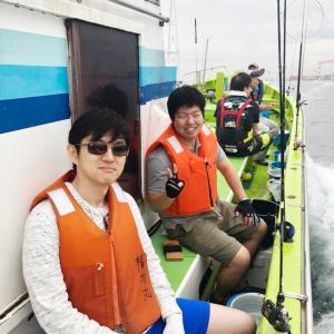 東京湾でタコ釣り!!