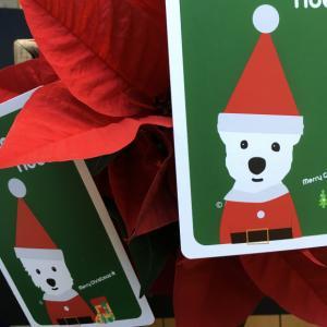 初めてのクリスマスポストカード
