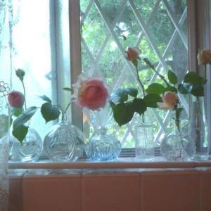 マスク&薔薇とインテリア