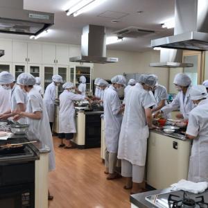 学校給食調理講習会の料理講師をしました