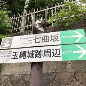 近所のお城の跡地