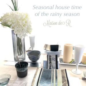 梅雨の季節のテーブルコーディネートレッスンは・・・