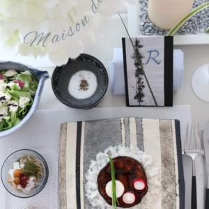 お料理の盛り付けとテーブルコーディネートのリンクは大切