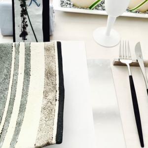 夏に合うテーブルウェア素材ってどんなものでしょう?