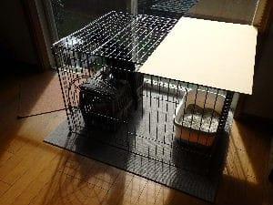 パパの力作!② 猫ケージ置き場兼キャットタワー。