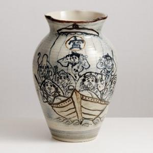 九谷古青窯は  【二代古青】と【熊野古青」、そして【古青窯 謹製】・・