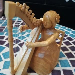 木工作家の方が素敵なプレゼントを送ってくださいました❣️