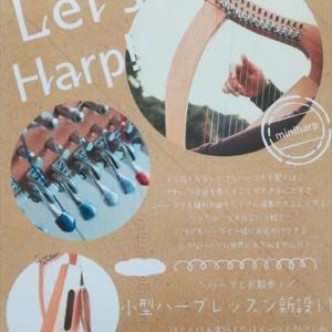 15弦小型ハープご紹介❣️
