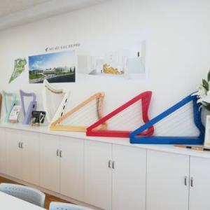 3回目の小型ハープ体験会は、明日、岐阜市須賀町です🎶