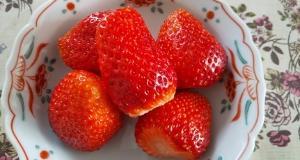 今日はイチゴ