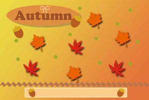 秋のイラスト