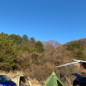 今年最後のキャンプになるでしょう