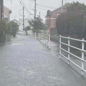 熊本で大雨