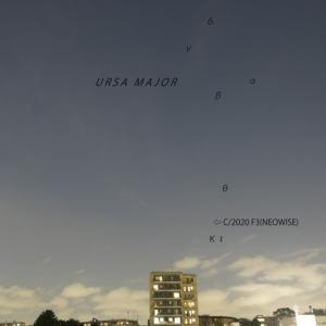 C/2020 F3 (NEOWISE)  ー 28mmで撮った2020年7月19日のネオワイズ彗星 ー