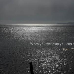 目が覚めたら海が見える