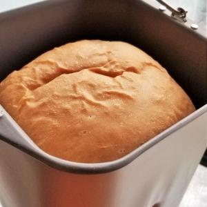 生食パンを焼いてみました。