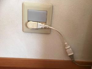 電気コードの整理で部屋が広くなる