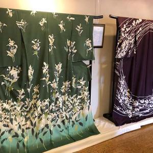 『日本の染織展~令和のきもの』開催中です