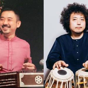 「新井孝弘 × U-zhaan 北インド古典音楽ライブ in 宝塔寺」