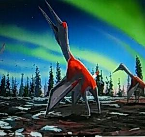 翼開長10メートルの翼竜化石発見
