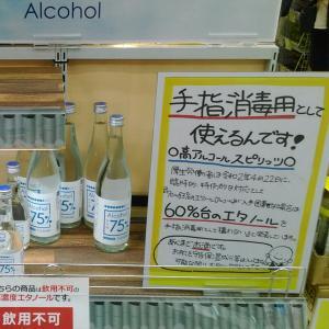 手指消毒アルコール