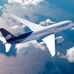アエロメヒコ航空でも機内無料メッセージサービス開始!