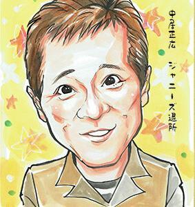2月25日の似顔絵教室レポ「中居正広さん」&3/10休講