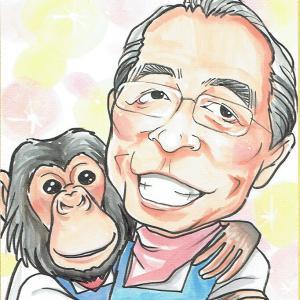 4月14日の似顔絵教室レポ「追悼・志村けんさん」