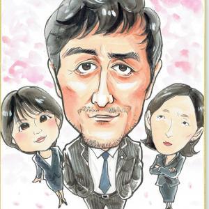 5月11日の似顔絵教室レポ「阿部寛さん(ドラゴン桜2)」