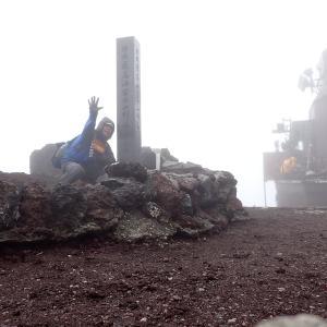 富士山寒すぎ!