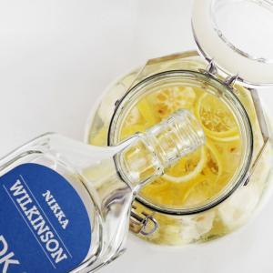 レモン果実酒を仕込むよ