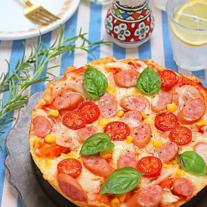 夏休みにお子さんと作れる♪手ごねで簡単!炊飯器でふわふわちぎりピザパン
