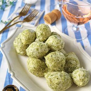 カリっともちもち食感がやみつき♪イタリアの簡単おつまみ青のりのゼッポリーニ