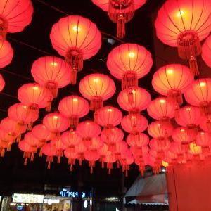 何年か前の春節、バンコクに居たなあと。昨晩はタイで隔離されてる夢を見た