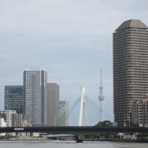 「TOKYO街旅」川辺の眺め、隅田川テラスを歩く