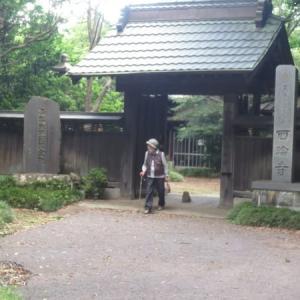 静寂の木立に包まれた古寺の趣き、福禄寿を祀る西輪寺