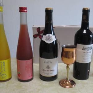 今日は「敬老の日」――爺婆のことがニュースになる日。フランス赤ワインを頂いています。