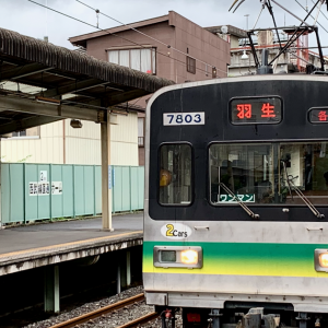 THE PARADISE OF FORMER TOKYU EMUS