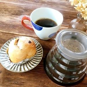 朝のコーヒー☆ リネンのトートバック
