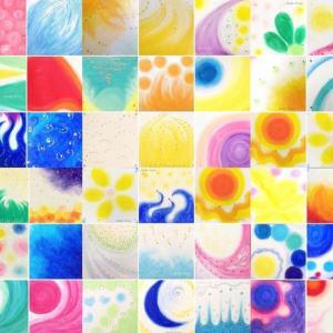 ◆ニコニコ大作戦!!エナジーアート(パワーアート)クレパス画 受注製作◆