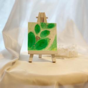 ◆お披露目 IRONOE  優しい緑色と…