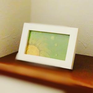 ◆持ち歩ける IRONOEカードは、飾っても可愛い。