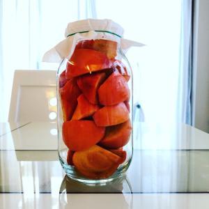 ◆柿酢を仕込みました^_^
