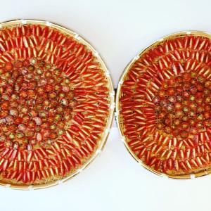 ◆収穫したプチトマトで、大量のサンドライトマトを作る…