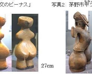 「縄文ノート75 世界のビーナス像と女神像」の紹介